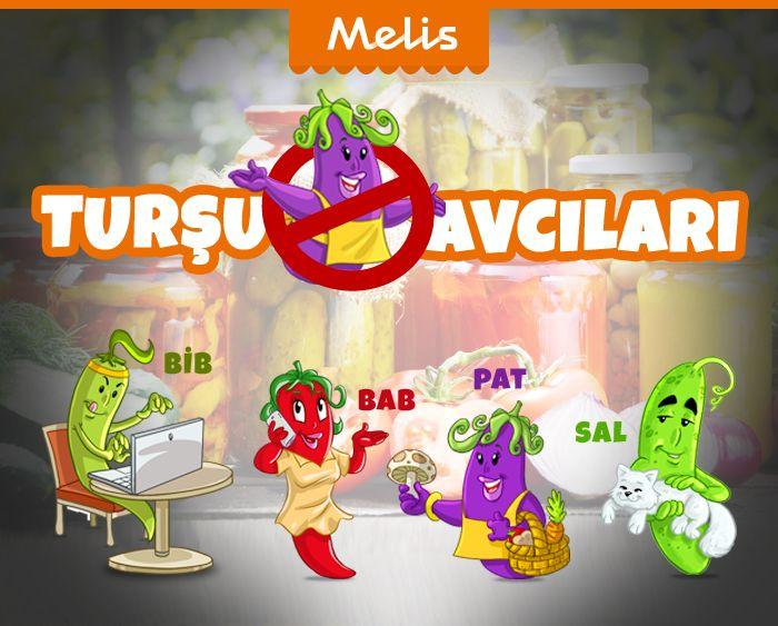 Melis Turşuları karakter tanıtım postu.