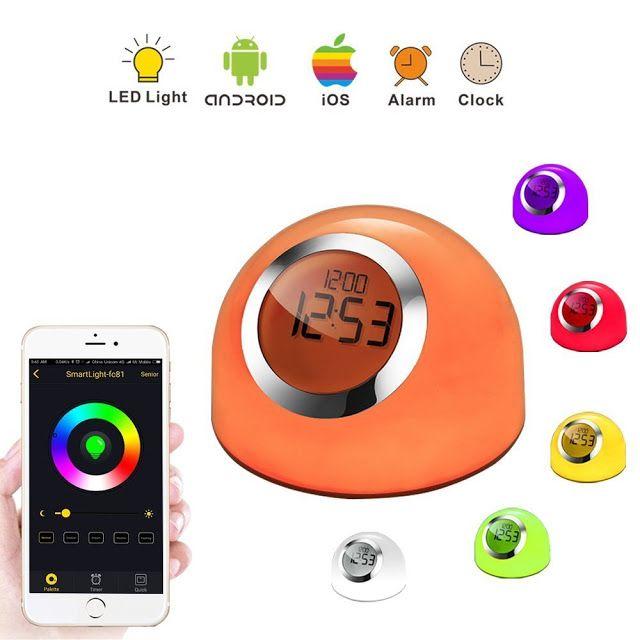 rogeriodemetrio.com: Table Lamp Wake-up Light Alarm Clock