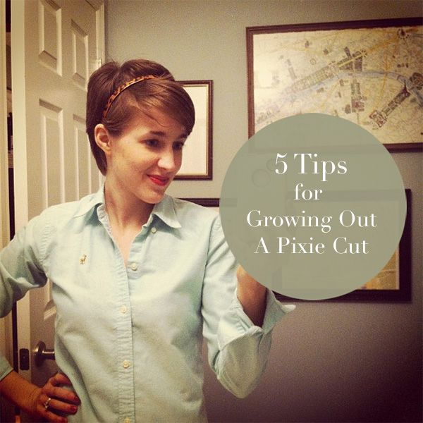 the curtis casa: 5 Tips for Growing Out A Pixie Cut