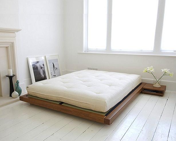 Minimalism interior bedroom pinterest side tables for Japanese minimalist room