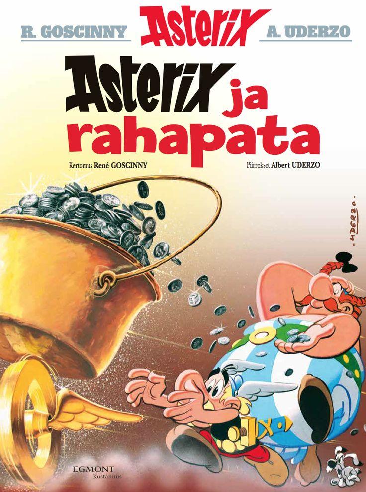 Klassikkouusinta 8.2. lehtipisteissä ja kirjakaupoissa! #Asterix #sarjisparhaus #klassikko