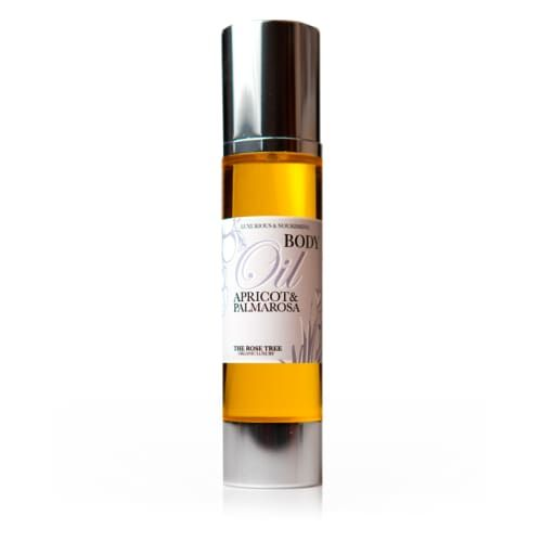 Apricot & Palmarosa Body Oil - £26.00 - The Rose Tree