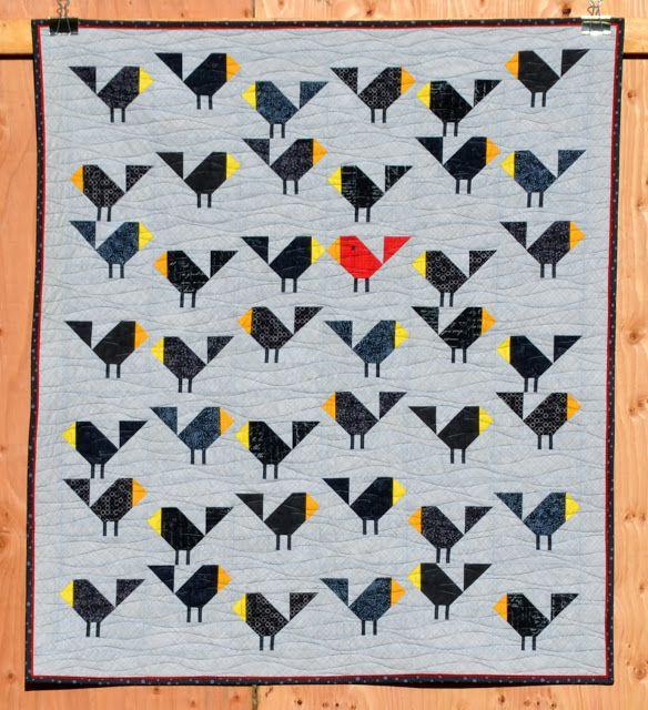 Black Birds {Redo x2} | Sew Fresh Quilts | Bloglovin'
