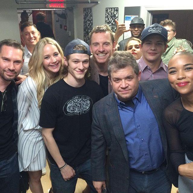Jennifer Lawrence, Jennifer Lawrence with the X-Men: Apocalypse cast,...