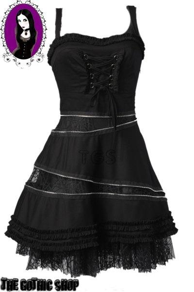 Hell Bunny Zipper Dress