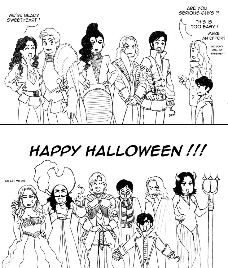 I laughed so hard! Charming's dressed as Fandral!!! #Onceuponatime #Halloween 2013 by floangel
