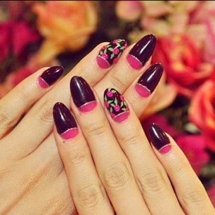 109 best images about almond nails  on pinterest  nail