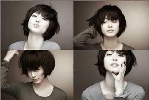 10 Short Chinese Bob Hairstyles #BobHaircuts