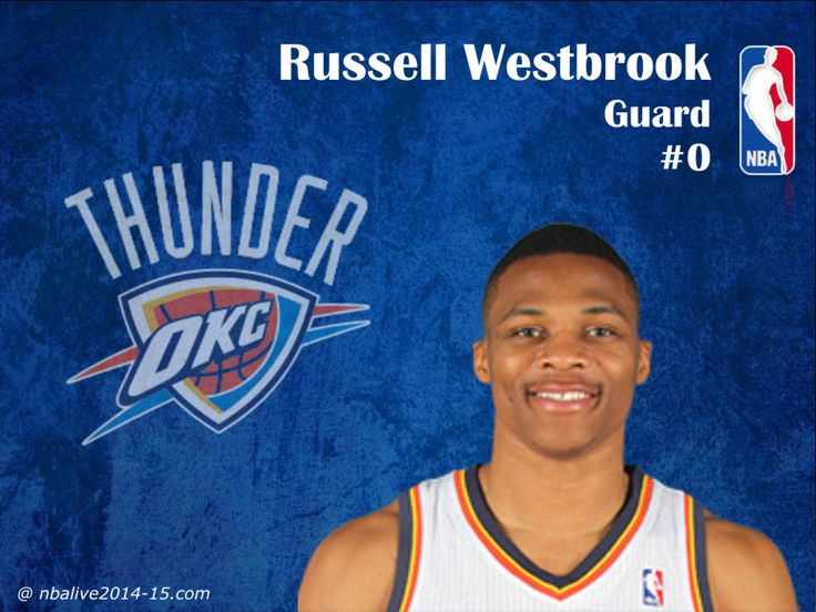 Russell Westbrook - Oklahoma City Thunder - 2014-15 Player