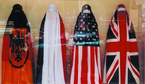 The Burqa Project: On the Borders of My Dreams I encountered My Double's Ghost Jean Ulrick Désert Haiti 2009