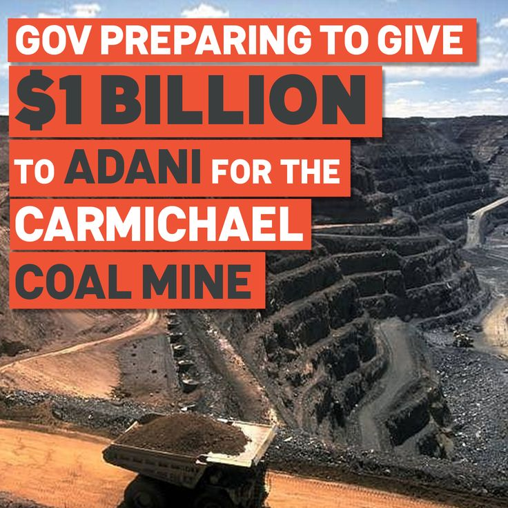 BREAKING: Our Government is preparing to hand $1 billion in taxpayer funds to Adani's proposed mega Carmichael coal mine. Sign here to tell our Resources Minister that you don't want your money cooking the climate and wreck the Reef. Our Government has just given conditional approval for the taxpayer-funded Northern Australia Infrastructure Facility (NAIF) to hand mining giant Adani $1 billion to build a rail line connecting their proposed Carmichael mega coal mine to the ...
