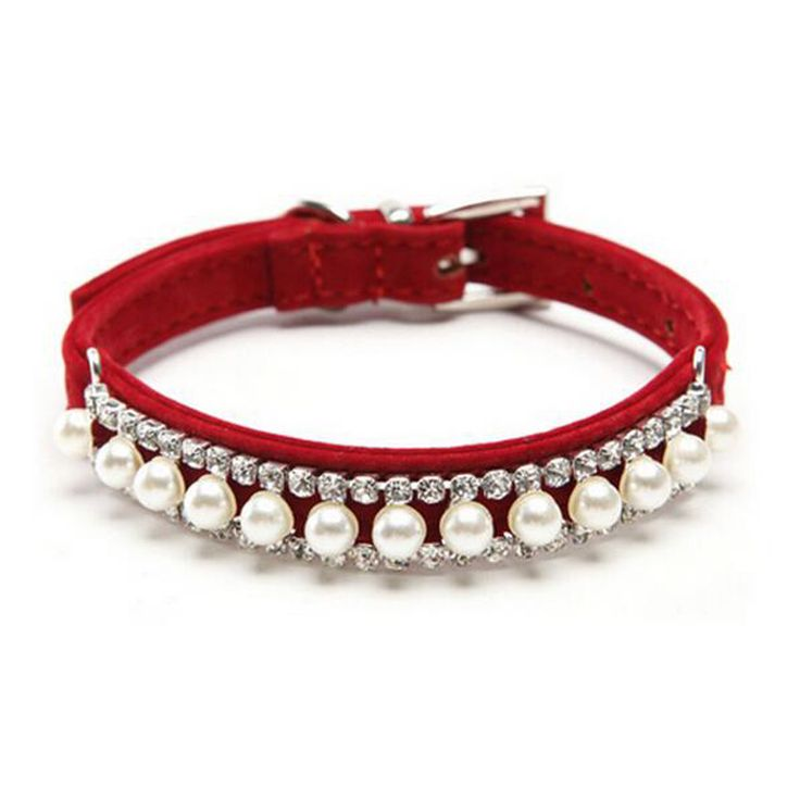 2016 Luxury Crystal Rhinestone Dog Cat Collar Accessories Fashion Pearl Necklae For Small Medium Dogs - Like this? click here:  http://www.dogcollarsshop.com/product/2016-luxury-crystal-rhinestone-dog-cat-collar-accessories-fashion-pearl-necklae-for-small-medium-dogs/