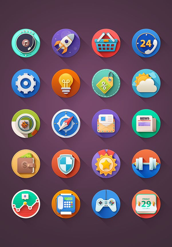 Kinda  #icon #design #free #download #freebie ramotion.com