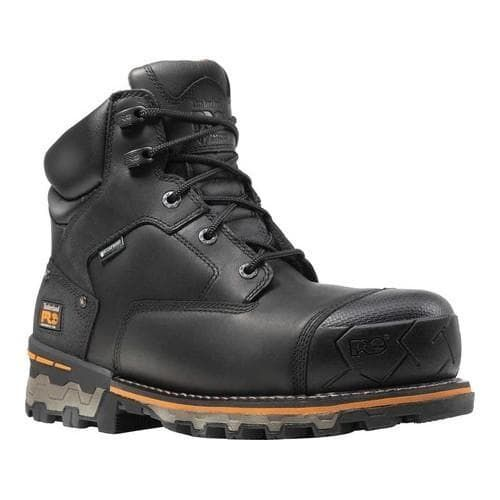 Men's Timberland PRO Boondock 6in WP Insulated Composite Toe Boot Full Grain