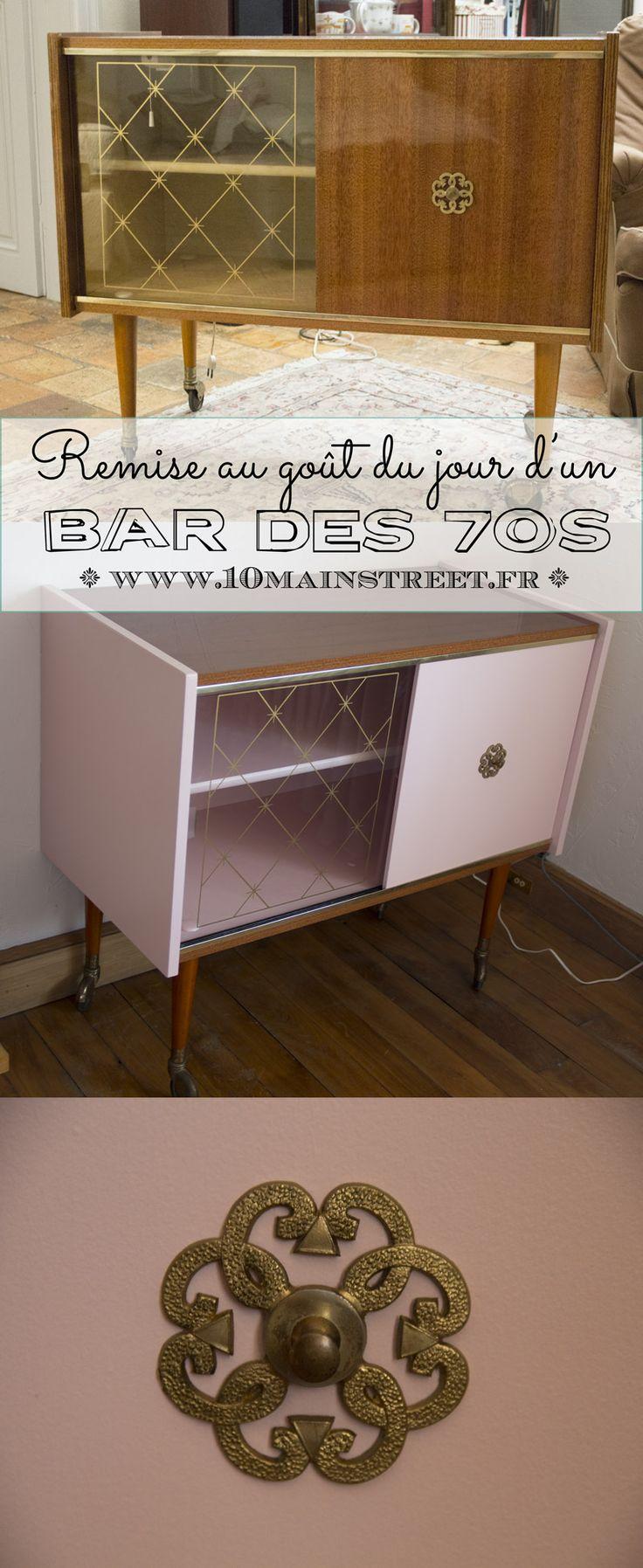 Remise au goût du jour d'un bar des 70s   www.10mainstreet.fr