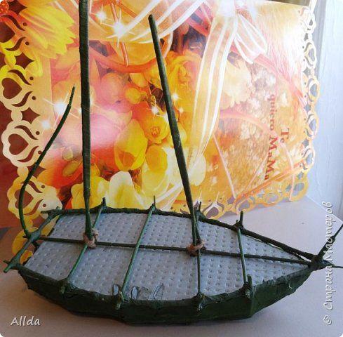 Свит-дизайн День рождения Моделирование конструирование И на скалах растут цветы   Бумага гофрированная фото 3
