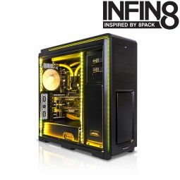 Infin8 Swarm - Intel Core i7 5820K @ 4.4GHz Overclocked Watercooled Extreme Gaming PC