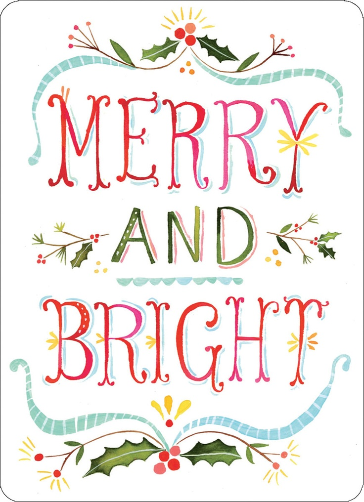 MPNX16-madison-park-greetings-katie-daisey-sweet-notes-holiday-christmas-merry-bright-cards-hand-lettering.jpg 869×1,200 pixels
