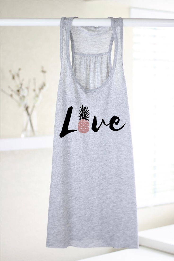 Love Pineapple Tank - Pineapple Shirt - Women's Graphic Tank Top - Yoga Tank - Yoga Top - Pineapple Print - Pineapple Lover - Gift For Women by ArimaDesigns on Etsy https://www.etsy.com/listing/386942676/love-pineapple-tank-pineapple-shirt