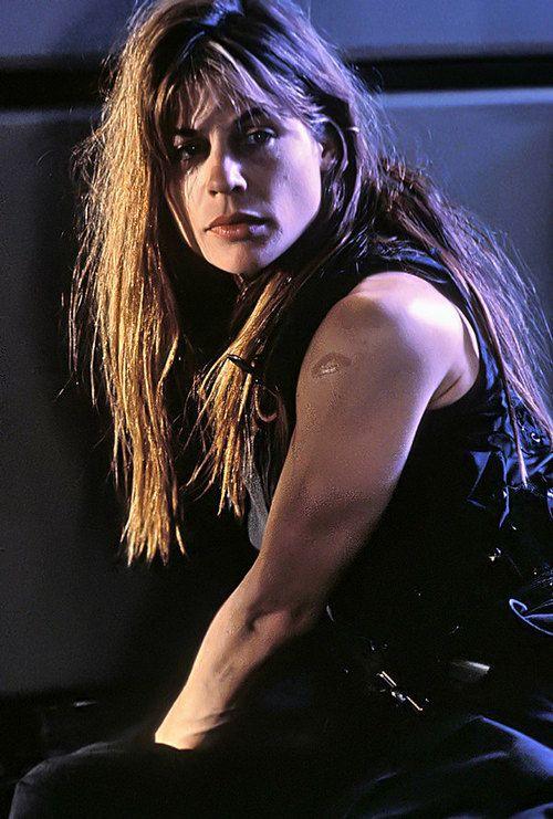 Sarah Connor/Linda Hamilton. BADASS.  #terminator
