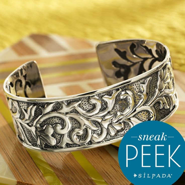 SNEAK PEEK from Silpada's Fall/Winter 2014 Collection! Stay tuned to facebook.com/SilpadaDesigns for more sneak peeks! #SilpadaStyle: Cuff Coming, Silpada Designs, 2014, Sterling Silver, Cuffs, Silpada Jewelry, Coming Soon, Designs Jewelry