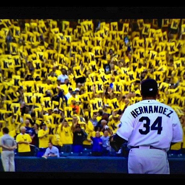 King Felix. @Seattle Mariners