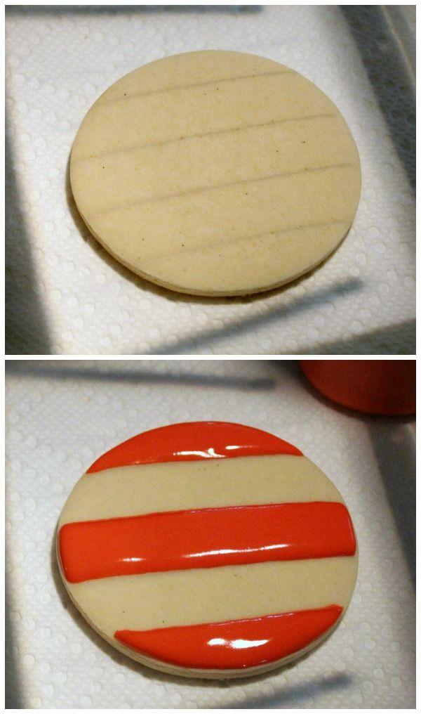 Patriotic Flag Cookie Platter and Printable Kopykake Template