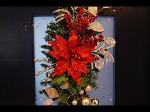 Cereza para decoracion Navideñas de corona y el arbol de Navidad - YouTube