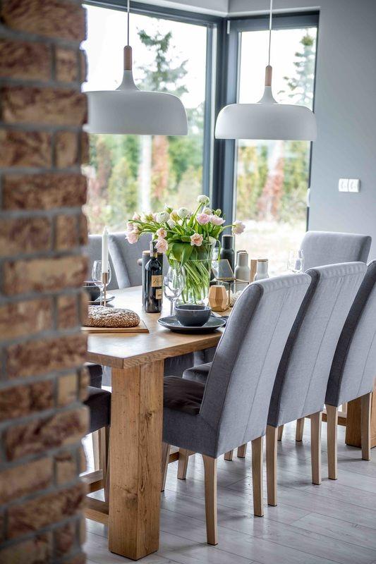 Stil modern și cărămidă expusă într-o casă din Polonia | Jurnal de design interior
