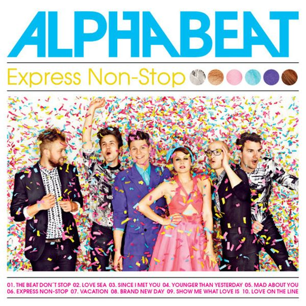 Alphabeat – Express Non Stop album leak listen and download