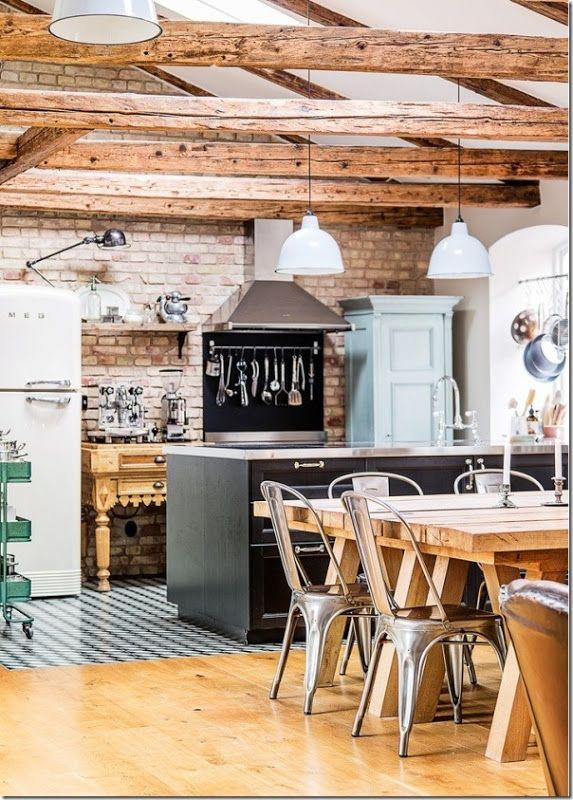 Oltre 25 fantastiche idee su arredamento chic industriale for Arredamento scandinavo vintage