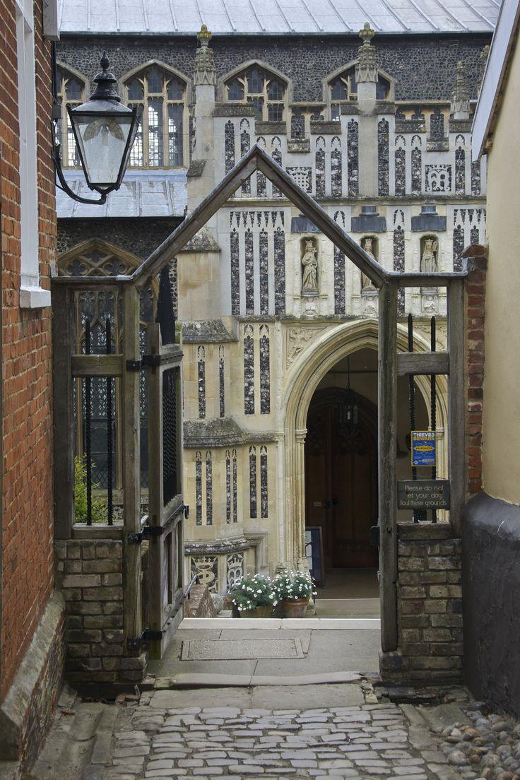 Side Entrance, Saint Mary's Church, Woodbridge Wood