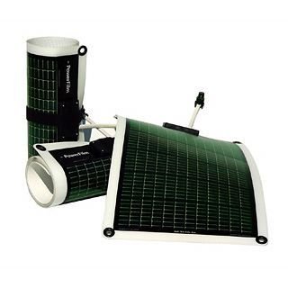 Rollable solar charger.