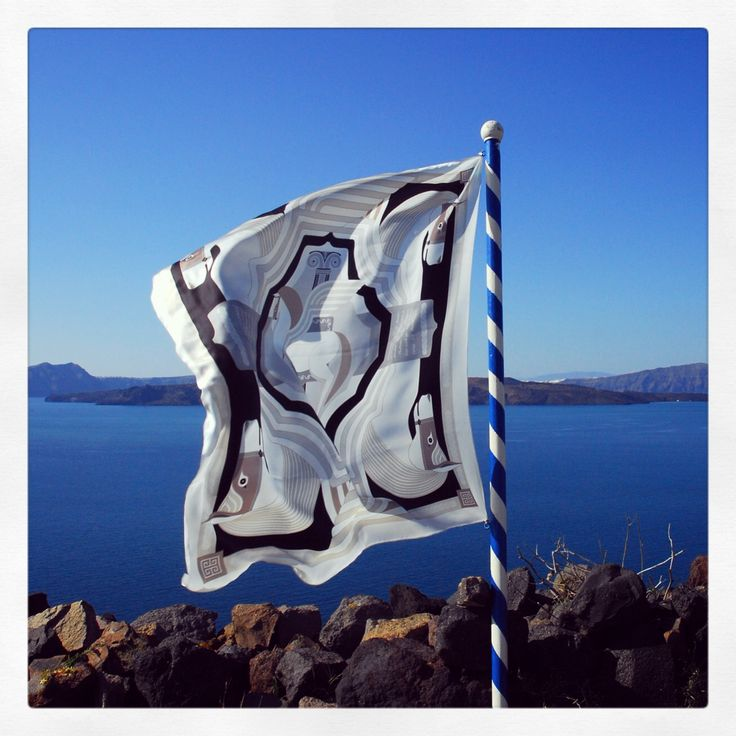 """Pegasus"" silk scarf by Grecian Chic!"