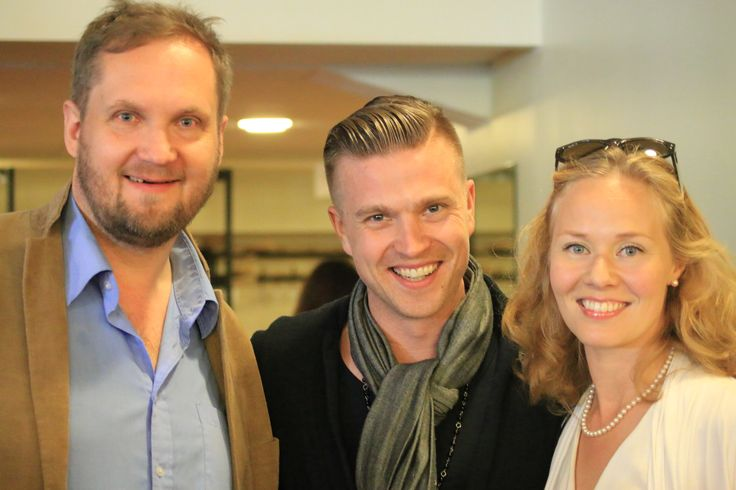 With Mikko Kemppe the biohacker maverick and salsa master. And friend. :)
