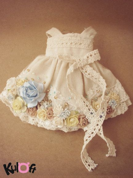 Flowers dress short by kuloft on Etsy