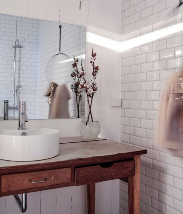 Bathroom by Jeanette Lunde