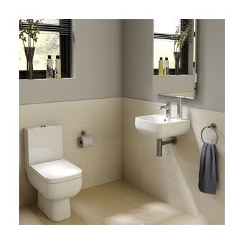 14 Best Compact Designs Images On Pinterest  Cloakroom Suites Stunning Compact Bathroom Suites For Small Bathrooms Design Inspiration