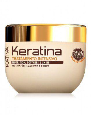 Маска для поврежденных и хрупких волос кератиновая интенсивно восстанавливающая KERATINA Kativa, 500 мл. от Kativa за 1190 руб!