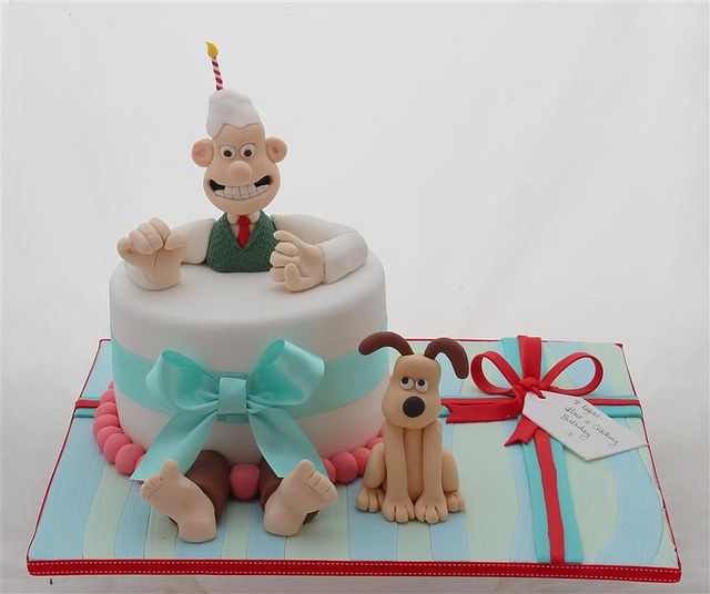 Wallace and Gromit cake | Flickr - Photo Sharing!