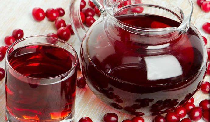 Клюквенный сок: польза