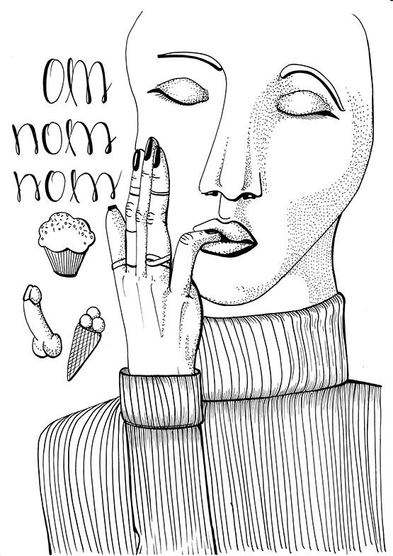 camilla näsholm // illustration // oneadayforoneyear