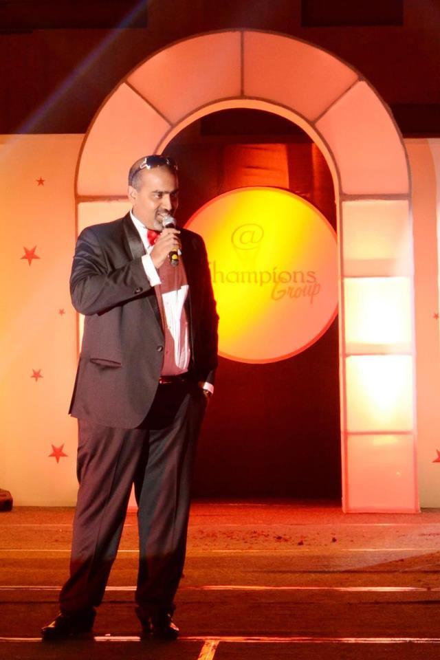 Subhakar Rao Surapaneni at Champions event party