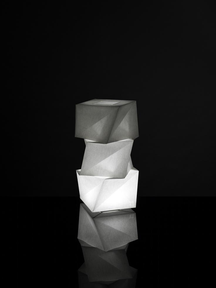 Mogura  http://www.artemide.net/in-ei/    Photo by Hiroshi Iwasaki  © Miyake Design Studio 2012
