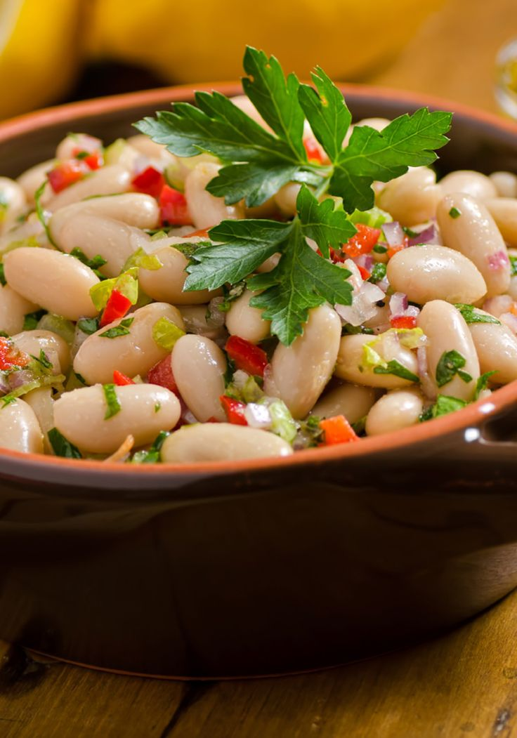 Cannellini beans and roasted red peppers dressed with bright lime juice, cumin, and fresh herbs are a classic example of how a few simple ingredients can lead to a killer dish.