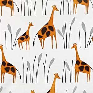 Geoffrey Giraffe 100% Cotton 137cm wide | 64cm Curtaining