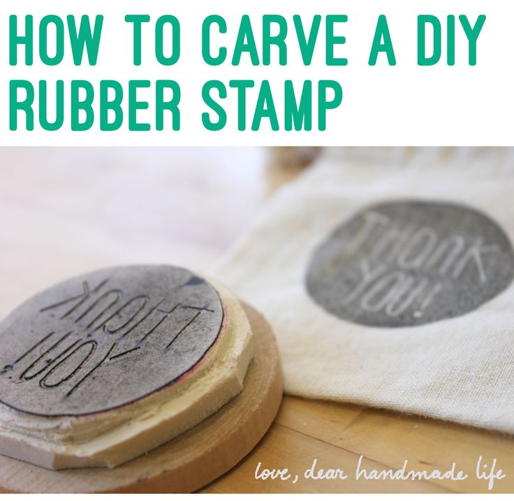 It seems to be a really straightforward review about how to make diy stamps. Includes supply list