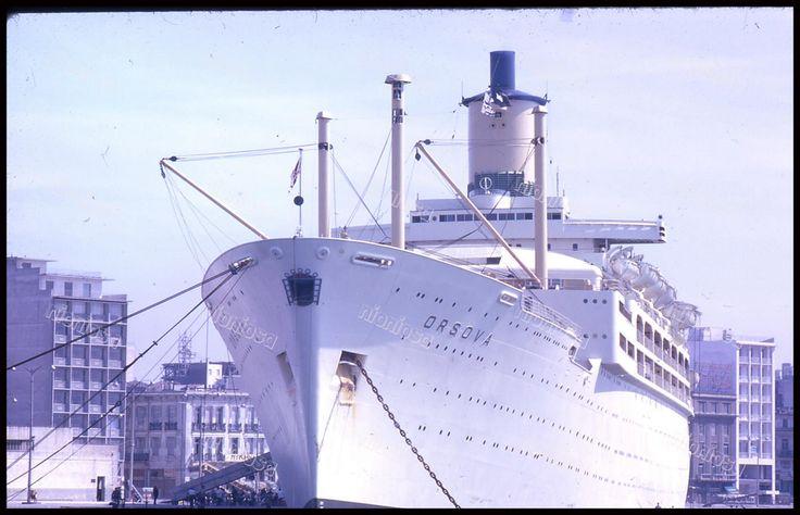 S/S Orsova, λιμάνι Πειραιά.