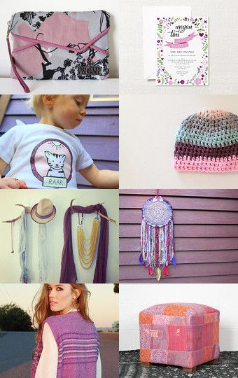 Passionate Pinks by Jelaine Blythman on Etsy