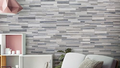 Cubics Azul Natural 6 X 24 3d Porcelain Wall Panel 5 49 Per Square Foot Wall Paneling Home Decor Ceramic Tiles